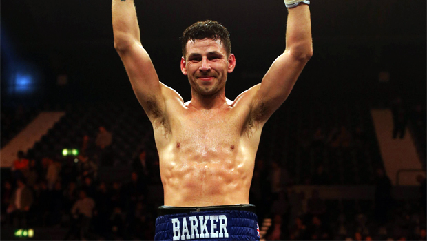 British boxer Darren Barker triumphed in a split decision