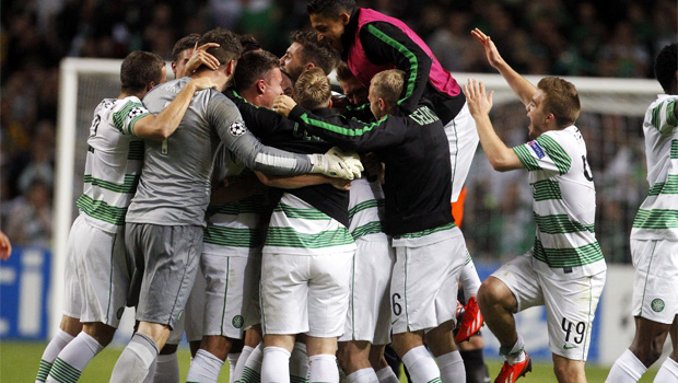 Celtic v Shakhter Karagandy Champions League