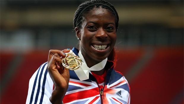 Christine Ohuruogu first British woman to win two World Championship