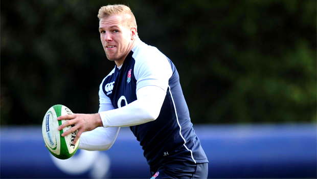 England Rugby Union James Haskell