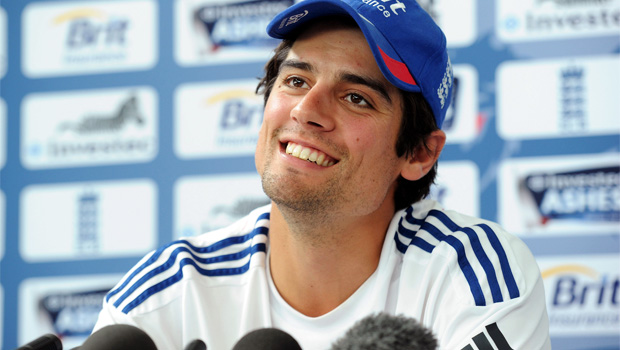 England captain Alastair Cook paid tribute after ashes win