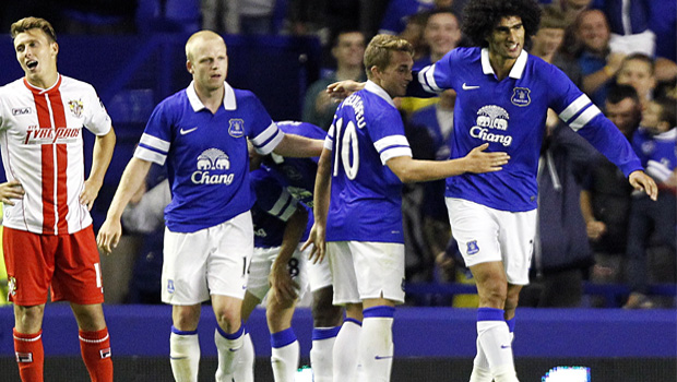 Everton Capital One Cup