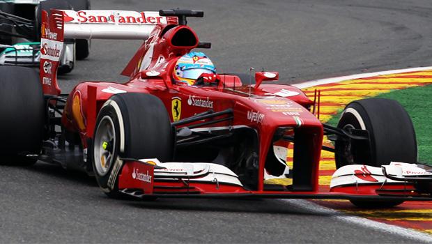 Fernando Alonso Belgian Grand Prix