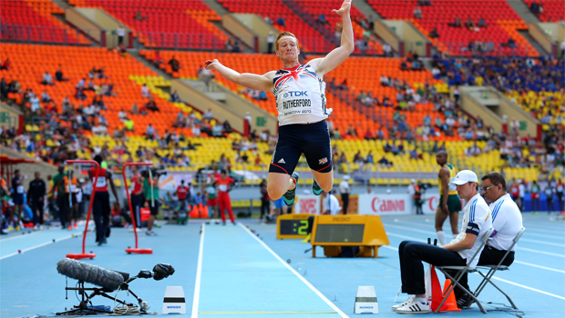 Greg Rutherford defended the decision Athletics World Championship