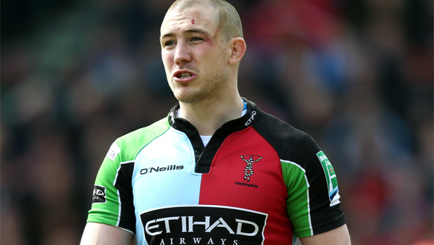 Harlequins signed new deal Mike Brown