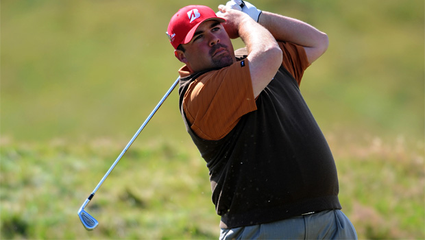 Kevin Stadler on lead in first round of The Barclays