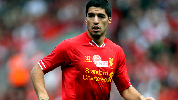 Liverpool wantaway striker Luis Suarez