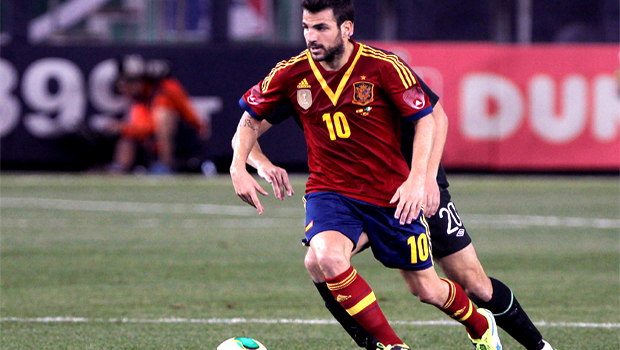 Manchester United resigned to Cesc Fabregas