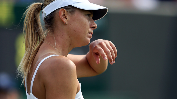 Maria Sharapova early exit US Open