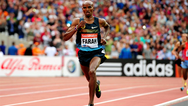 Mo Farah Great North Run