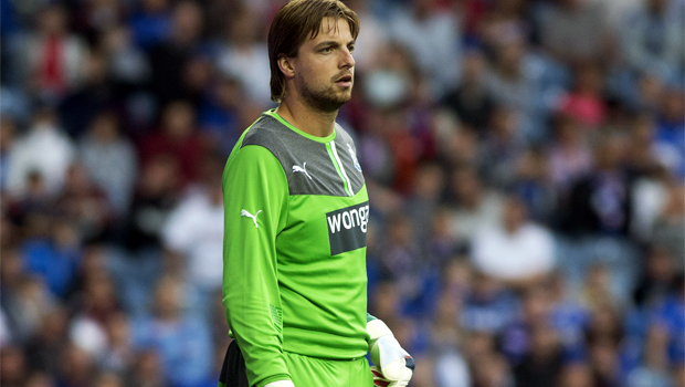 Newcastle goalkeeper Tim Krul hopes