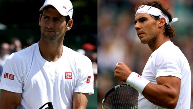 Novak Djokovic and Rafael Nadal rogers cup 2013 semis