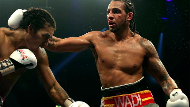 Prizefighter champion Wadi Camacho