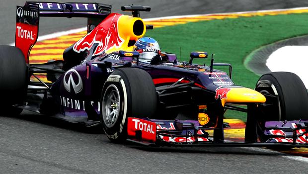 Sebastian Vettel Belgian Grand Prix 2013