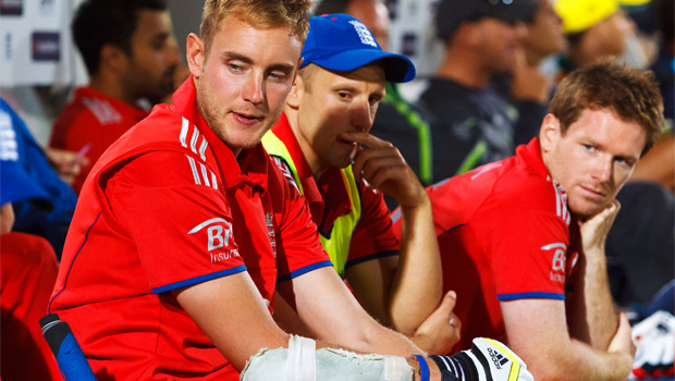 Stuart Broad v Australia T20 tournament