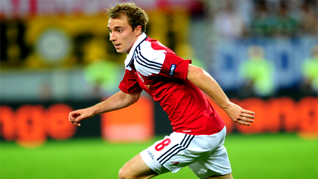Tottenham signed in Dutch midfielder Christian Eriksen