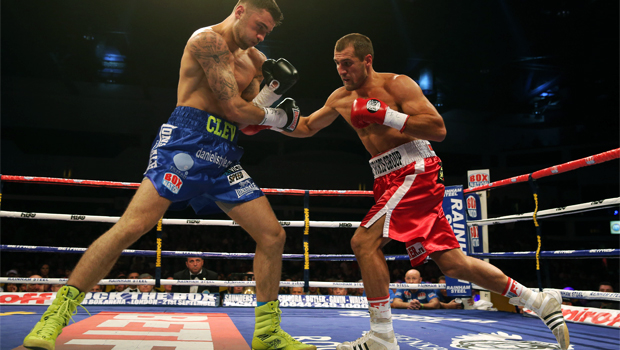 Welsh fighter Nathan Cleverly lost his WBO light-heavyweight title