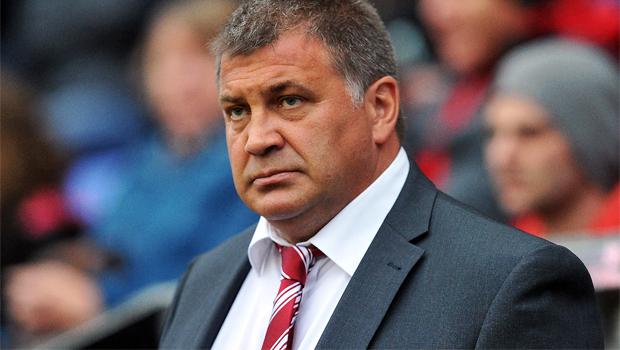 Wigan Warriors coach Shaun Wane