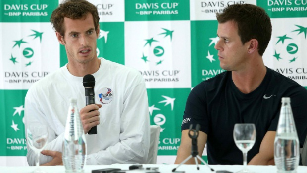 Andy Murray back pain