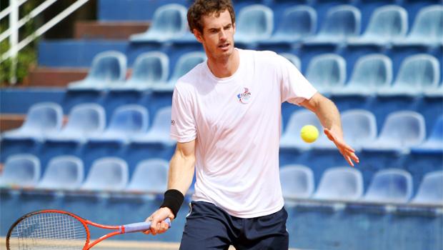 Andy Murray v Borna Coric  Davis Cup