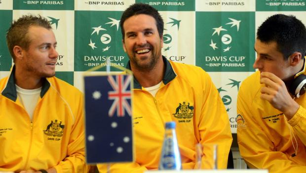 Australia Davis Cup captain Pat Rafter