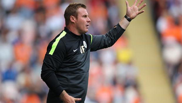 Barnsley boss David Flitcroft