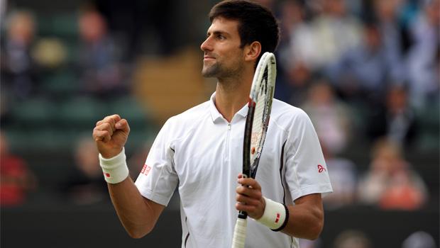 Canadas Davis Cup team v Novak Djokovic