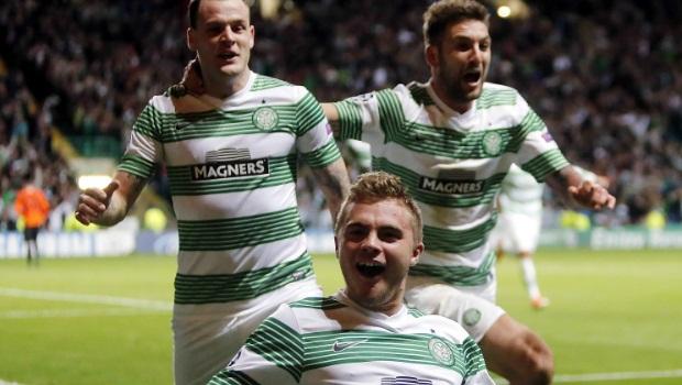 Celtic v Hearts scottish premiership