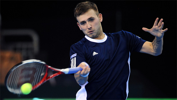 Dan Evans US Open 2013