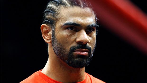David Haye v Tyson Fury boxing