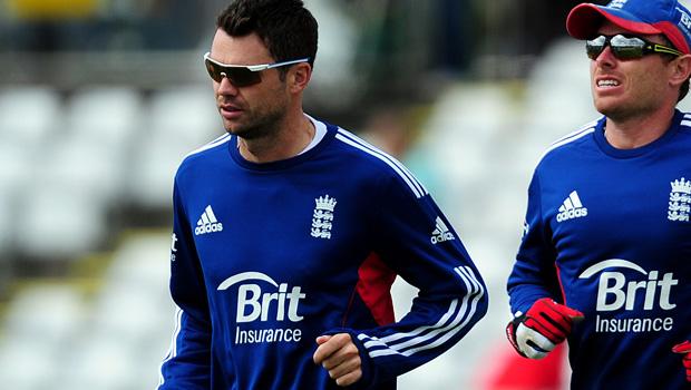 England cricket James Anderson