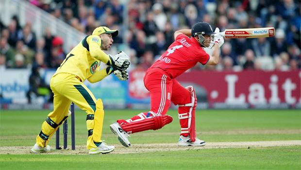 England cricketers v Australia ODI