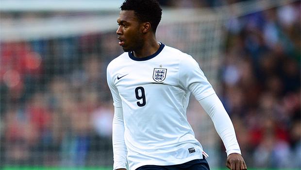 England striker Daniel Sturridge World Cup qualifier 2013