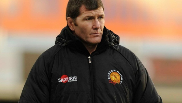 Exeter Chiefs Rob Baxter