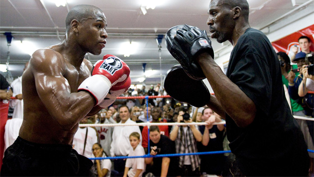 Floyd Mayweather Jr v Saul Alvarez boxing