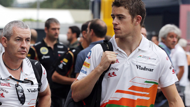 Force India Paul Di Resta Singapore Grand Prix