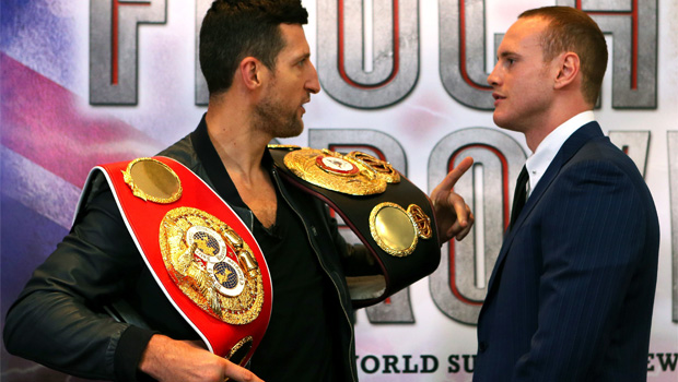 George Groves v Carl Froch boxing