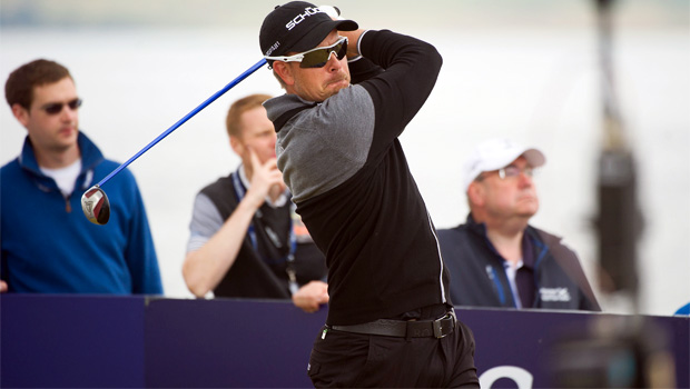 Golfer Henrik Stenson on BMW Championship