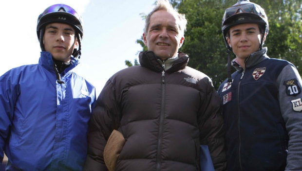 Legendary French trainer Andre Fabre horse racing