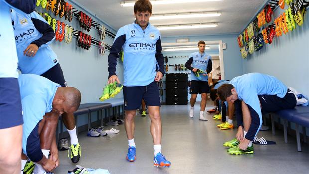Manchester City David Silva