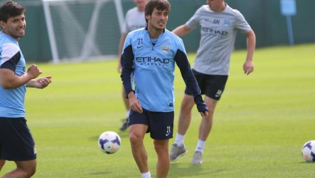 Manchester City midfielder David Silva