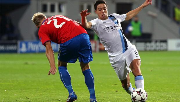 Manchester City v Viktoria Plzen Champions League