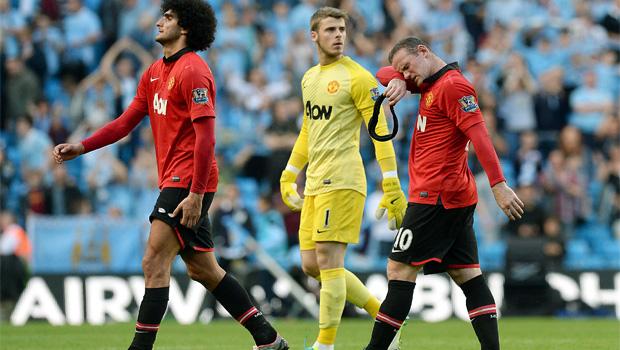 Manchester United v Man City  4-1