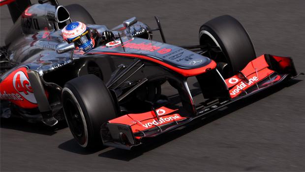 McLaren Jenson Button