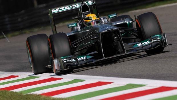 Mercedes Lewis Hamilton Italian GP