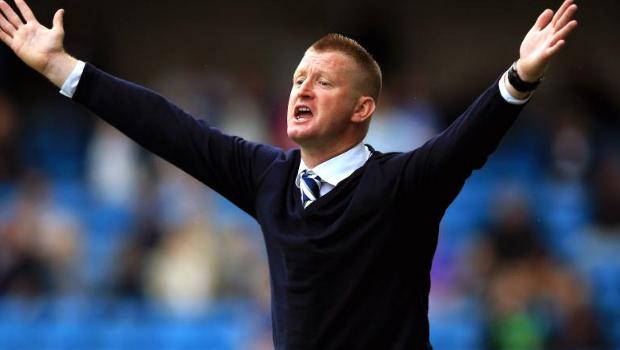 Millwall boss Steve Lomas