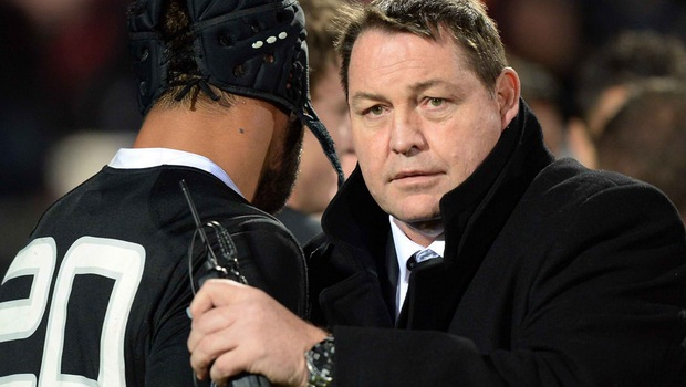 New Zealand coach Steven Hansen