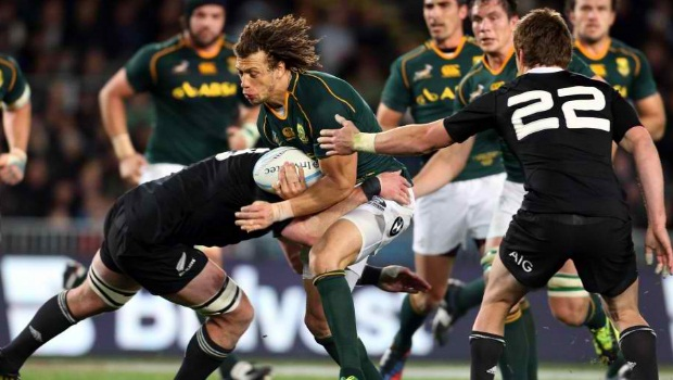 New Zealand v South Africa Rugby Championship