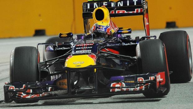 Red Bull Mark Webber Korean Grand Prix