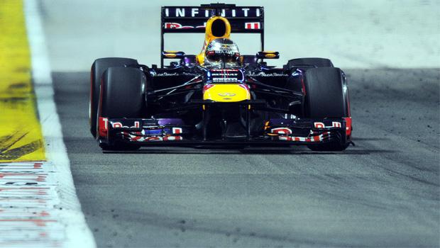 Red Bull Sebastian Vettel Singapore GP